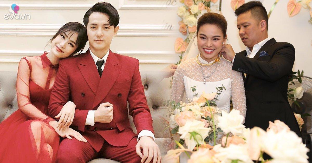 Hai cô dâu tháng 11 tên Hồng Ngọc: Người được cả showbiz chúc phúc, người chắc cốp tậu nghé luôn