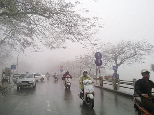 Thời tiết 1/11: Hà Nội mưa lạnh 19 độ C, Trung Bộ mưa lớn diện rộng hậu bão số 5