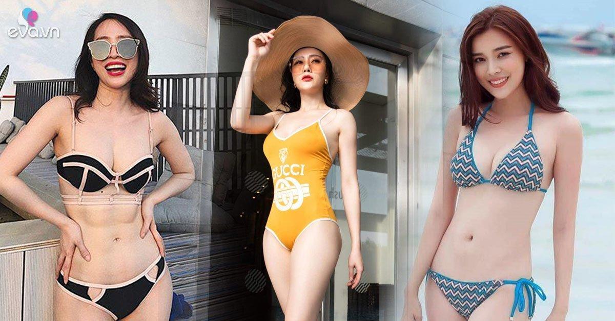 """Khi những cô gái vàng làng """"tiểu tam"""" khoe dáng với bikini, hình thể của ai hút mắt nhất?"""