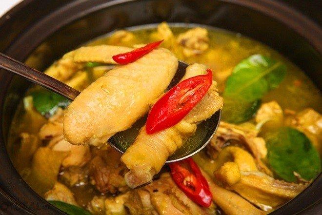ga luoc mai also chan, doi vi with 4 mon ga thi dam dam khong he ngan - 1