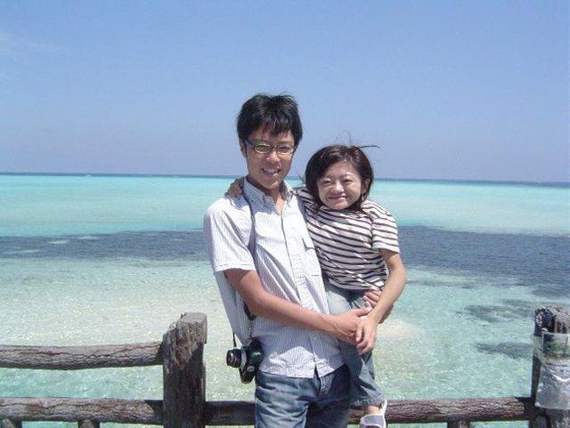 CôNatsuko kết hôn với người bạn cùng trường đại học.