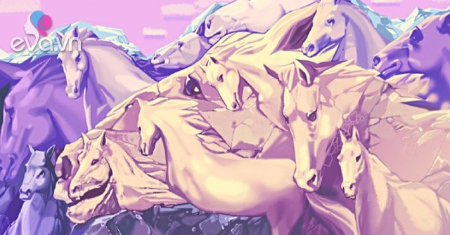 Có bao nhiêu con ngựa trong bức tranh? Câu trả lời tiết lộ điều thú vị-Eva tám
