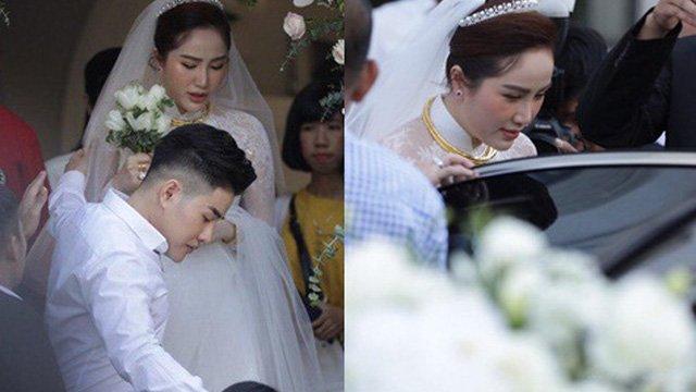 Bảo Thy khóc không ngừng trước lễ rước dâu xa hoa tại biệt thự hạng sang ở TP.HCM