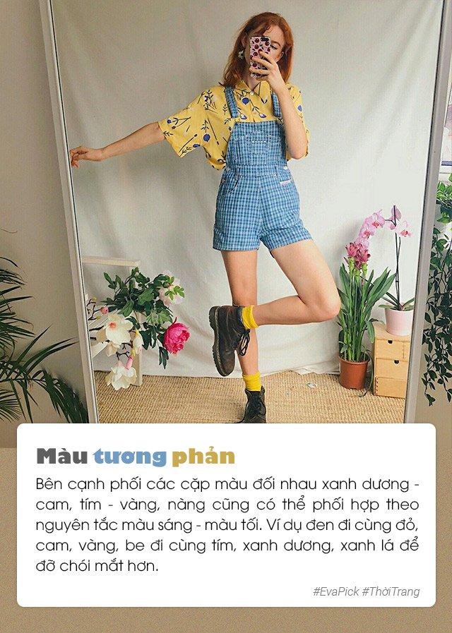 "6 bi quyet phoi mau trang phuc hot nhat han quoc - vua ""ninh"" da vua dep mat - 5"