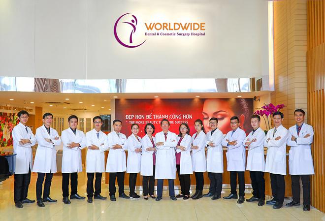 Bệnh viện Thẩm mỹ - Răng Hàm Mặt Worldwide: Chuẩn quốc tế nhưng giá không cao