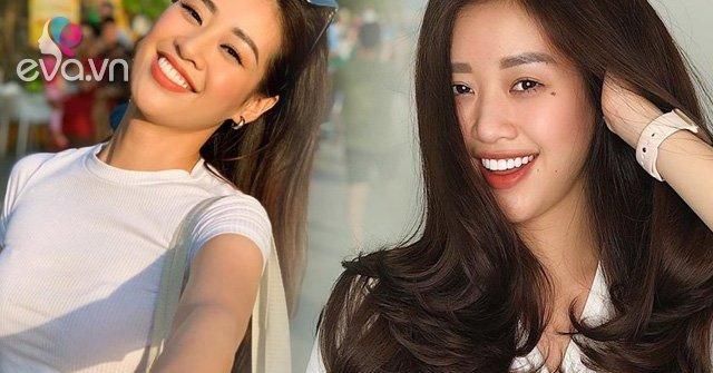 Cận cảnh nhan sắc đời thường trong trẻo của Khánh Vân - Tân Hoa hậu Hoàn vũ 2019