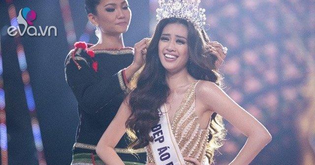 Tân Hoa hậu Nguyễn Trần Khánh Vân được trao vương miện Brave Heart