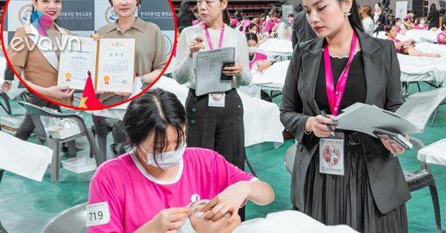 Master Ngọc Nguyễn tham dự chấm thi tại Hàn Quốc