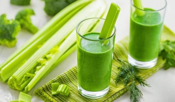 Uống nước ép cần tây đúng cách giúp đẹp da, giảm cân