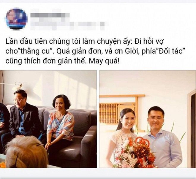 sau lan lo anh dam ngo, chong sap cuoi cong khai khoe khoanh khac tinh tu ben hh ngoc han - 4