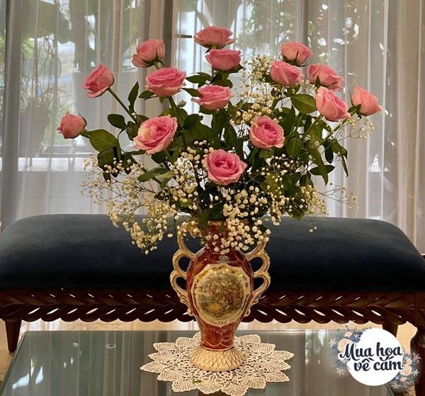 """Mẹ Hà Nội cắm hoa đẹp nức lòng, ngày nào không có là bị chồng con """"ra công điện khẩnamp;#34; - 16"""
