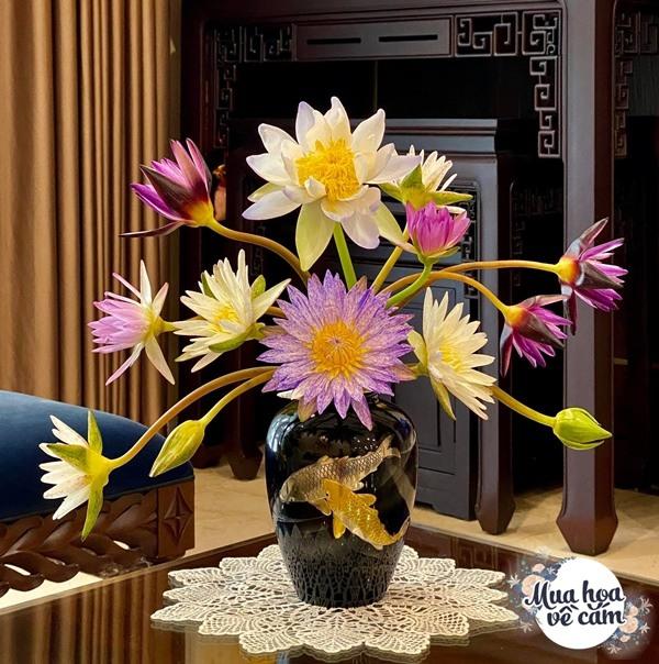 """Mẹ Hà Nội cắm hoa đẹp nức lòng, ngày nào không có là bị chồng con """"ra công điện khẩnamp;#34; - 6"""