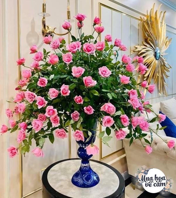 """Mẹ Hà Nội cắm hoa đẹp nức lòng, ngày nào không có là bị chồng con """"ra công điện khẩnamp;#34; - 9"""