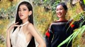 Mỹ nữ Ê Đê eo 59cm, chân dài nuột nà lọt vào bán kết Hoa hậu Việt Nam