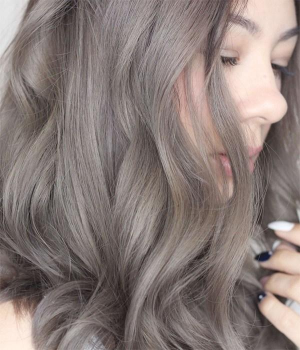 15 màu tóc nâu khói đẹp được yêu thích nhất dẫn đầu xu hướng năm 2020 - 14