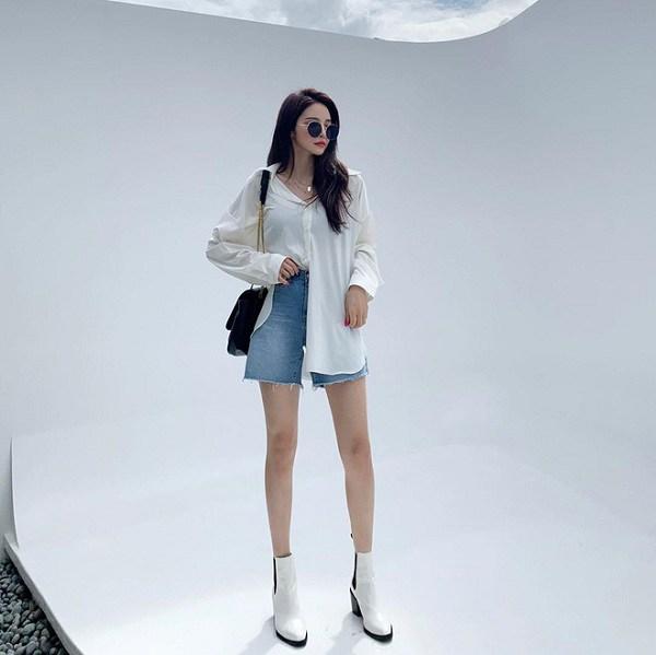 Kiểu quần short hợp thời tiết mát mẻ, nàng diện xuống phố đảm bảo cá tính và sành điệu - 3