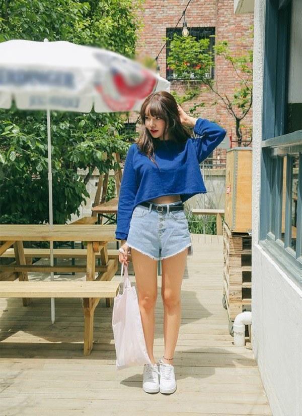 Kiểu quần short hợp thời tiết mát mẻ, nàng diện xuống phố đảm bảo cá tính và sành điệu - 11