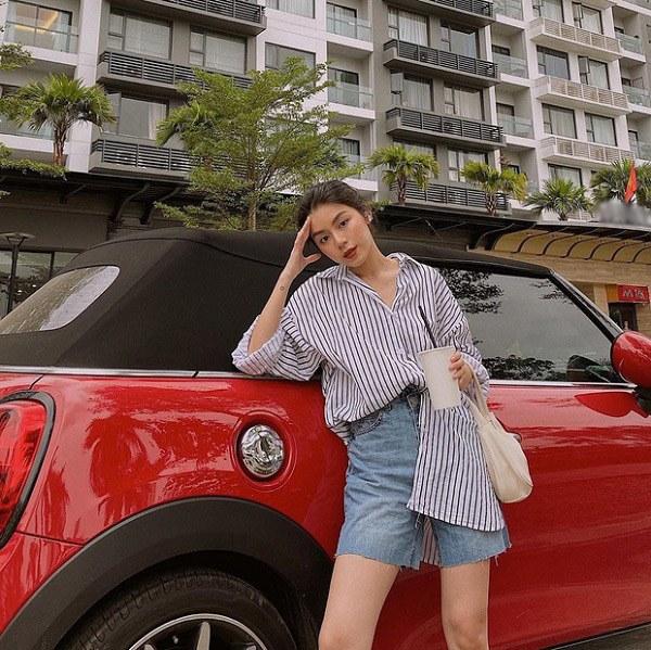 Kiểu quần short hợp thời tiết mát mẻ, nàng diện xuống phố đảm bảo cá tính và sành điệu - 1