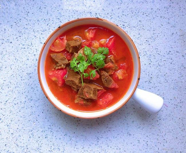 Thịt bò hầm cà chua vừa làm canh, vừa có súp thơm lừng cả bếp - 8