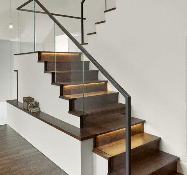 Mẫu cầu thang gỗ đẹp hiện đại, đơn giản làm nổi bật ngôi nhà - 21