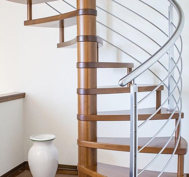Mẫu cầu thang gỗ đẹp hiện đại, đơn giản làm nổi bật ngôi nhà - 22