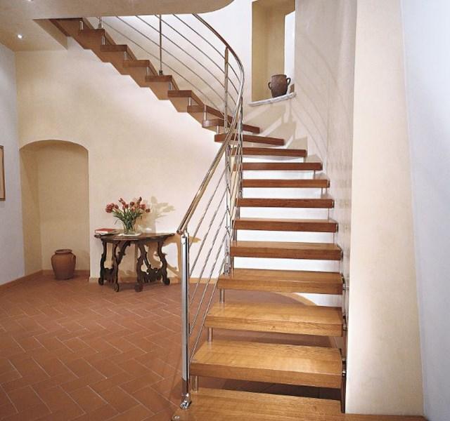 Mẫu cầu thang gỗ đẹp hiện đại, đơn giản làm nổi bật ngôi nhà - 27
