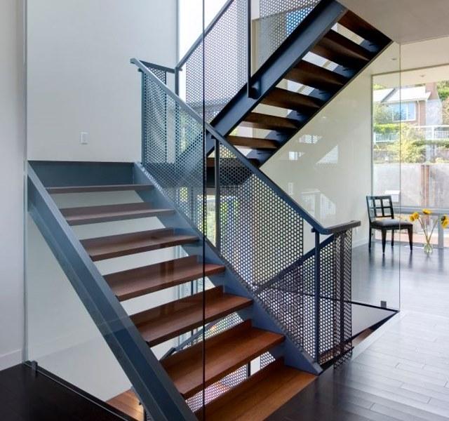 Mẫu cầu thang gỗ đẹp hiện đại, đơn giản làm nổi bật ngôi nhà - 29