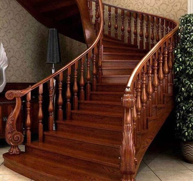 Mẫu cầu thang gỗ đẹp hiện đại, đơn giản làm nổi bật ngôi nhà - 11
