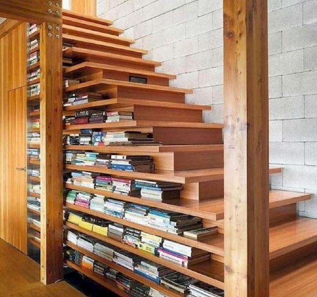 Mẫu cầu thang gỗ đẹp hiện đại, đơn giản làm nổi bật ngôi nhà - 6