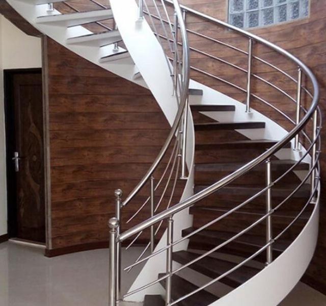 Mẫu cầu thang gỗ đẹp hiện đại, đơn giản làm nổi bật ngôi nhà - 23