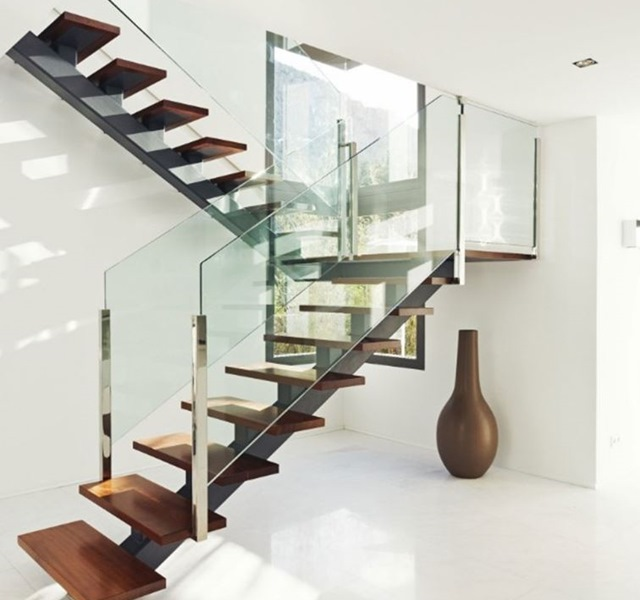 Mẫu cầu thang gỗ đẹp hiện đại, đơn giản làm nổi bật ngôi nhà - 16