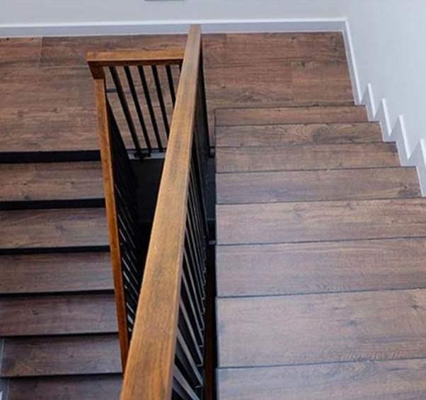Mẫu cầu thang gỗ đẹp hiện đại, đơn giản làm nổi bật ngôi nhà - 12