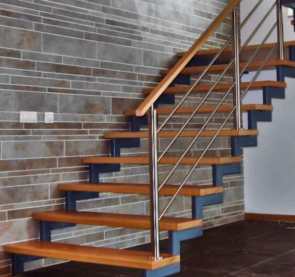 Mẫu cầu thang gỗ đẹp hiện đại, đơn giản làm nổi bật ngôi nhà - 24