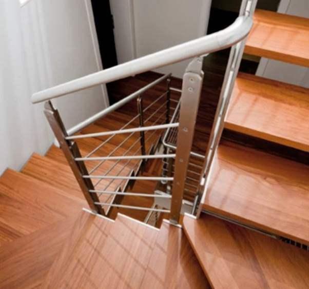 Mẫu cầu thang gỗ đẹp hiện đại, đơn giản làm nổi bật ngôi nhà - 25