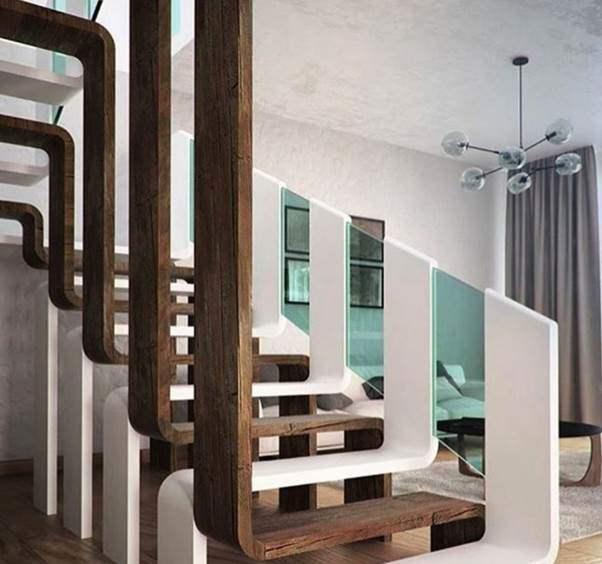 Mẫu cầu thang gỗ đẹp hiện đại, đơn giản làm nổi bật ngôi nhà - 30
