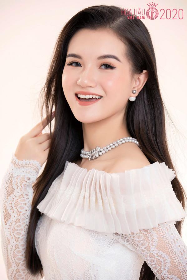 Nữ sinh 2K2 dáng đẹp mê, gương mặt như thiên thần vào Bán kết Hoa hậu Việt Nam - 3