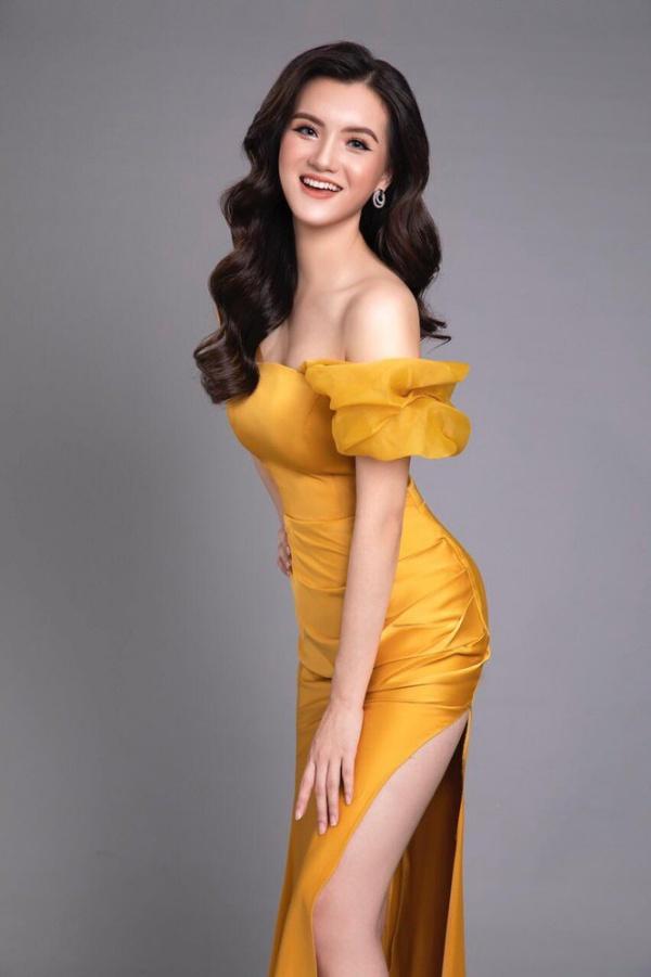 Nữ sinh 2K2 dáng đẹp mê, gương mặt như thiên thần vào Bán kết Hoa hậu Việt Nam - 5