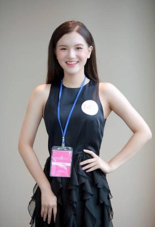 Nữ sinh 2K2 dáng đẹp mê, gương mặt như thiên thần vào Bán kết Hoa hậu Việt Nam - 6
