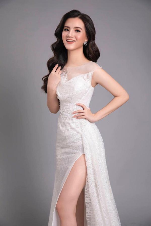 Nữ sinh 2K2 dáng đẹp mê, gương mặt như thiên thần vào Bán kết Hoa hậu Việt Nam - 8