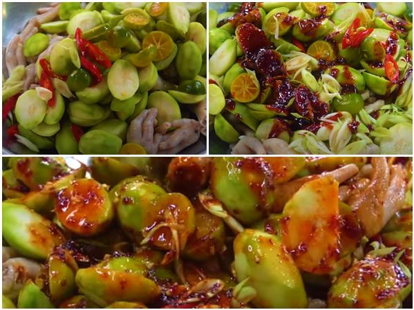Cách làm chân gà sốt Thái chua ngọt cay cay hấp dẫn ăn mãi không chán-6