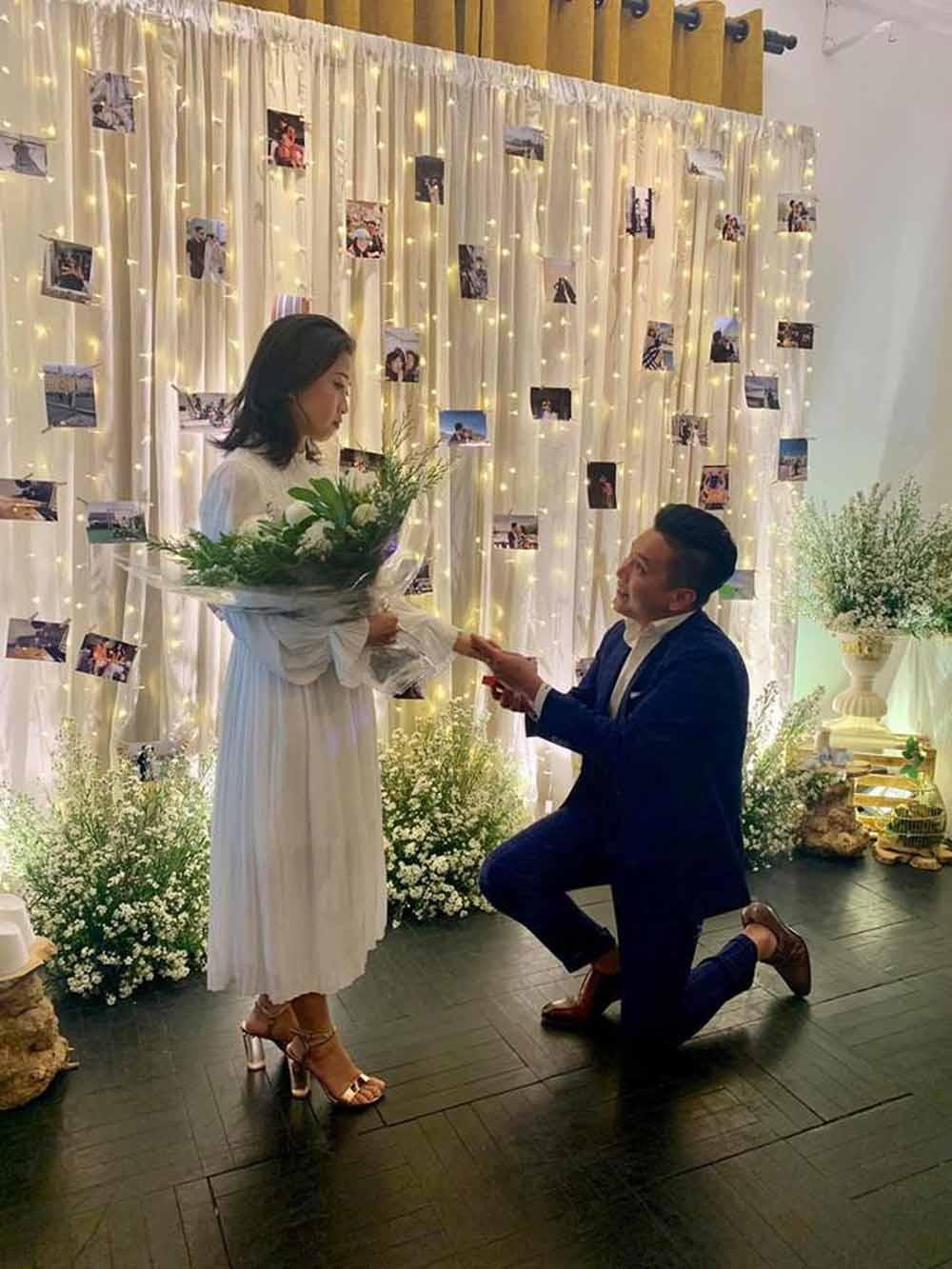amp;#34;Đám cướiamp;#34; hi hữu nhất showbiz: Cô dâu MC và chú rể Việt kiều làm lễ cách nhau gần 10.000km - 1