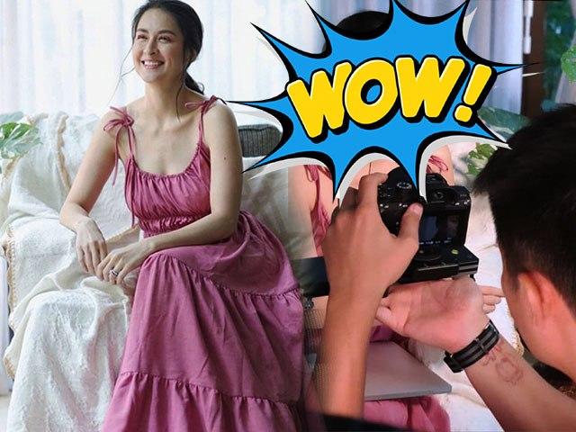 Ảnh tự đăng xinh như nữ thần, mỹ nhân đẹp nhất Philippinestung ảnh hậu trường làm ai cũng đứng hình