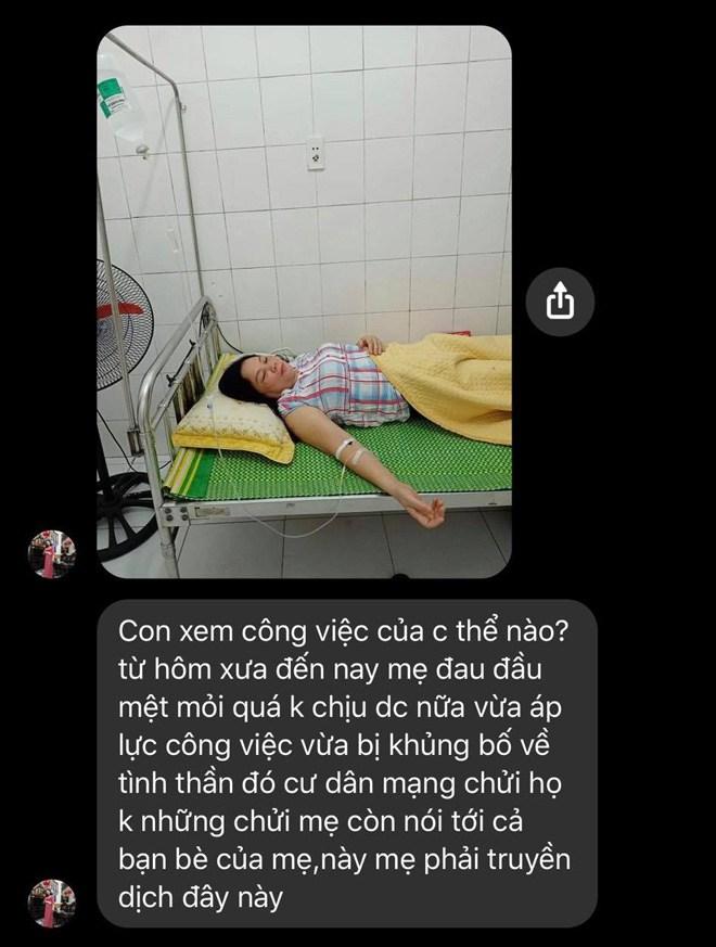 """""""Bồ nhí"""" vụ đánh ghen ở Tô Hiệu xin CĐM ngừng công kích gia đình vì mẹ đang nằm viện - 4"""