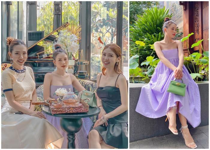 Thời trang trà chiều trái ngược: sao Hàn chuộng thanh lịch, mỹ nhân Việt ưa sang chảnh, cầu kỳ - 14