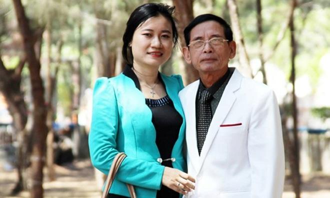 Đại gia Lê Ân và người vợ trẻMai Mai.