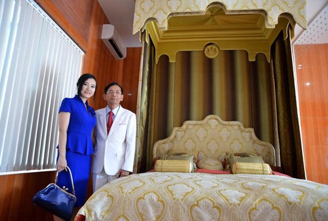 Chiếc siêu giường của đại gia Vũng Tàu.