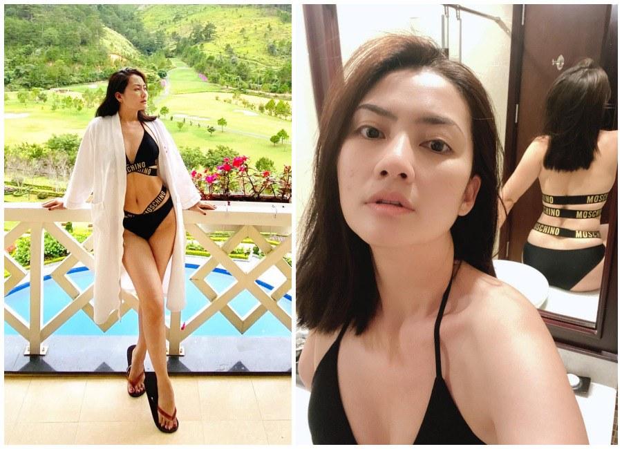 Bikini ngày một cắt khoét khó nhằn, mẹ 1 con Ngọc Lan vẫn tự tin khoe đường cong đẹp mê - 9