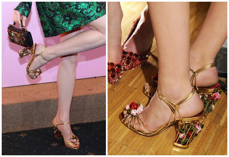 Những mẫu giày độc lạ thách thức bước chân của sao, có đôi amp;#34;lẹmamp;#34; mất luôn phần gót - 3