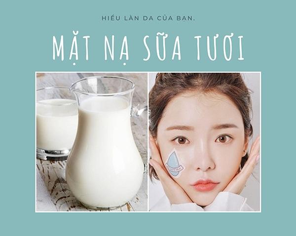 amp;#34;Lột xácamp;#34; làn da sậm màu hoá trắng hồng với 4 cách dưỡng da bằng sữa tươi - 1