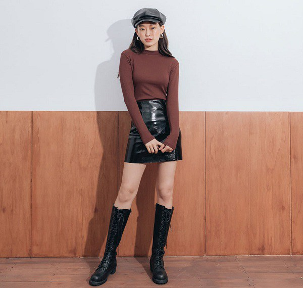 Các mẫu chân váy độc quyền dành cho ngày se lạnh, nàng cứ diện vào là thừa duyên dáng - 10